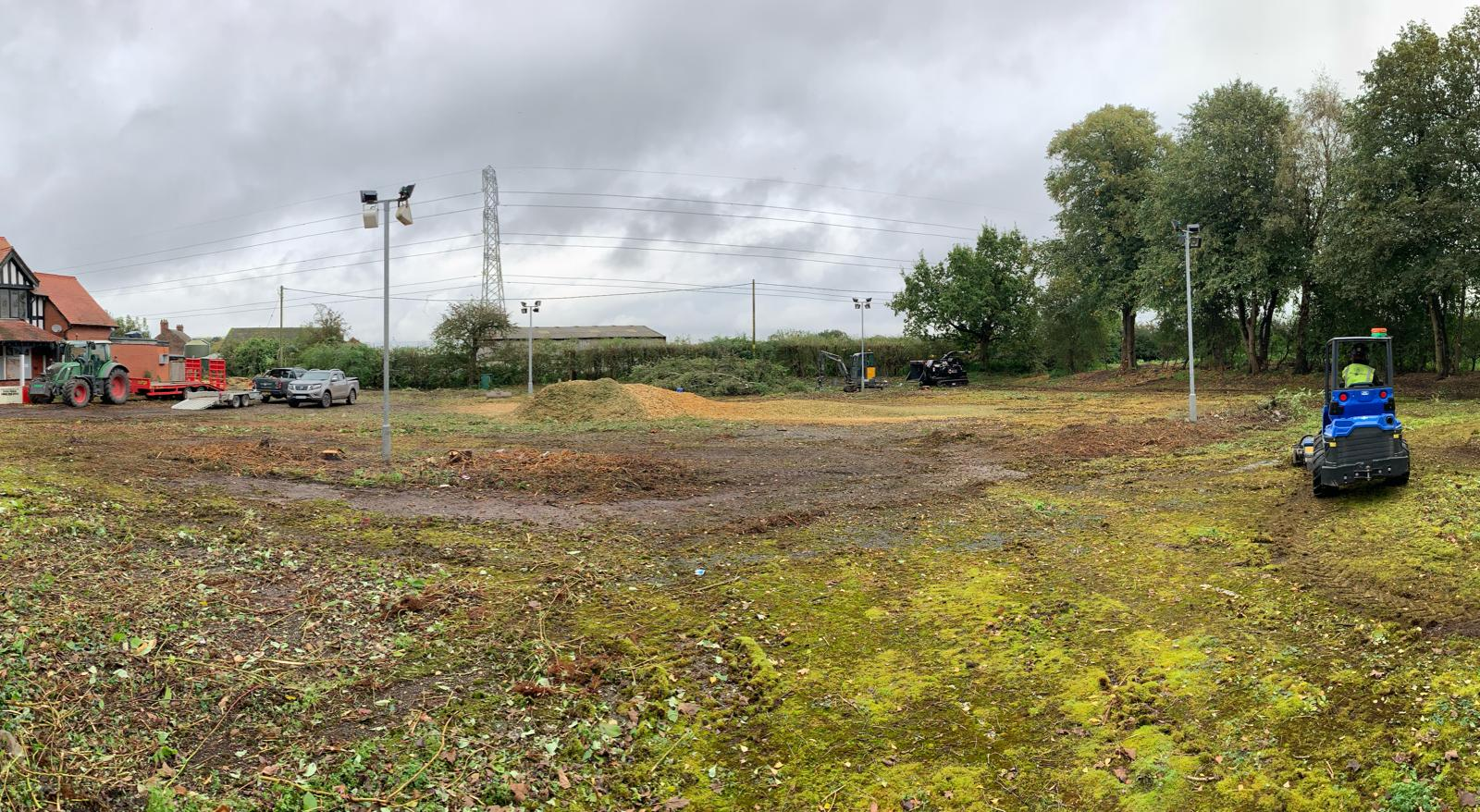 Site clearance Little Bollington Altrincham Cheshire Novo Property Group