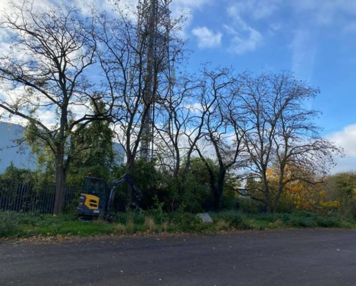 Site and Vegetation Clearance Cheshire